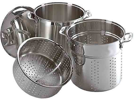 All-Clad E796S364 Specialty Stainless Steel Cookware Set