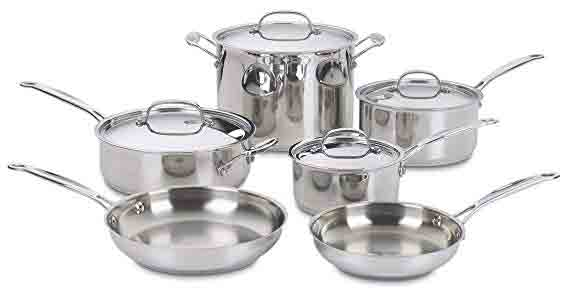 Cuisinart Chef's Classic Cookware Set