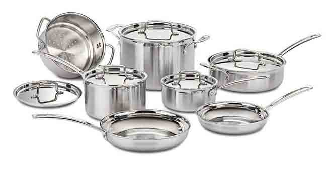 BEST POTS AND PANS FOR GLASS TOP STOVE