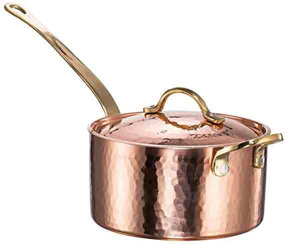 Demmex Hammered Copper Pan.