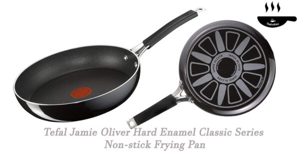 Tefal Jamie Oliver Hard Enamel Classic Series Non stick Frying Pan