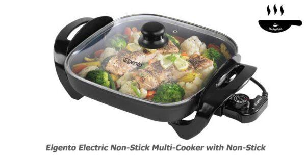 Elgento Electric Non Stick Multi Cooker with Non Stick