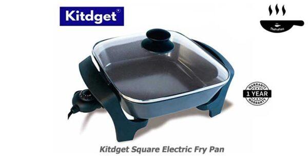 Kitdget Square Electric Fry Pan