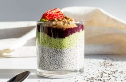 PUMPED CHIA SEED PUDDINGS