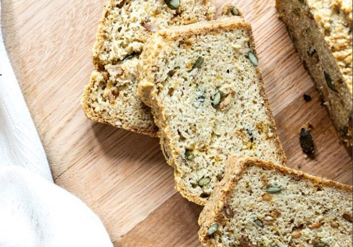 SEEDED ALMOND BREAD