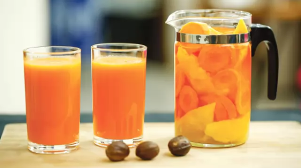Carrots and mango smoothies Recipe