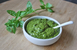 Basil and Sunflower Pesto