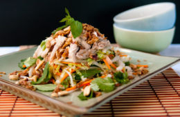 Vietnamese Chicken Salad with Sesame and Lime Dressing