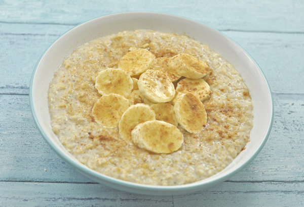 Porridge with Vanilla and Cinnamon