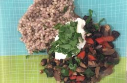 Spanish Black Beans with Buckwheat