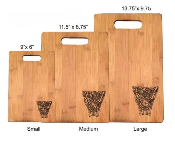 cutting board size